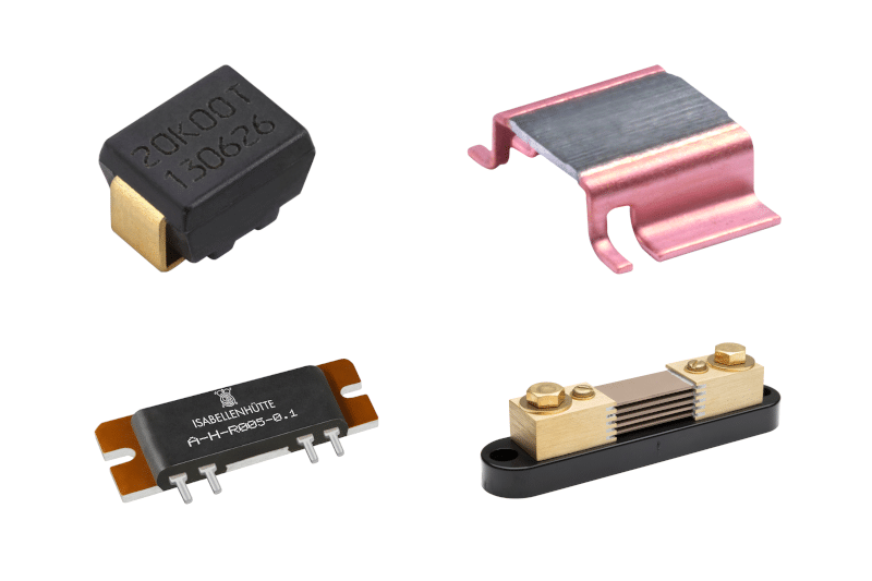 Example of Passive Components with various resistors