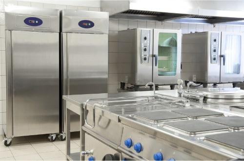 catering machinery using clinical and sterile components